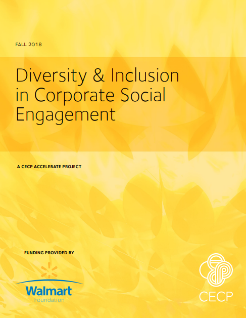 Diversity & Inclusion in Corporate Social Engagement