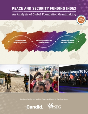 Peace and Security Funding Index: An Analysis of Global Foundation Grantmaking - 2019 Edition