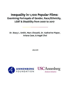 Inequality in 1,100 Popular Films.