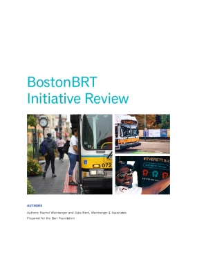 BostonBRT Initiative Report