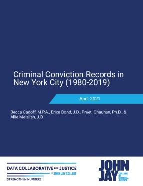 Criminal Conviction Records in New York City (1980-2019)